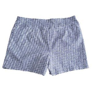 Navy & white XL shorts | Jules & Leopold